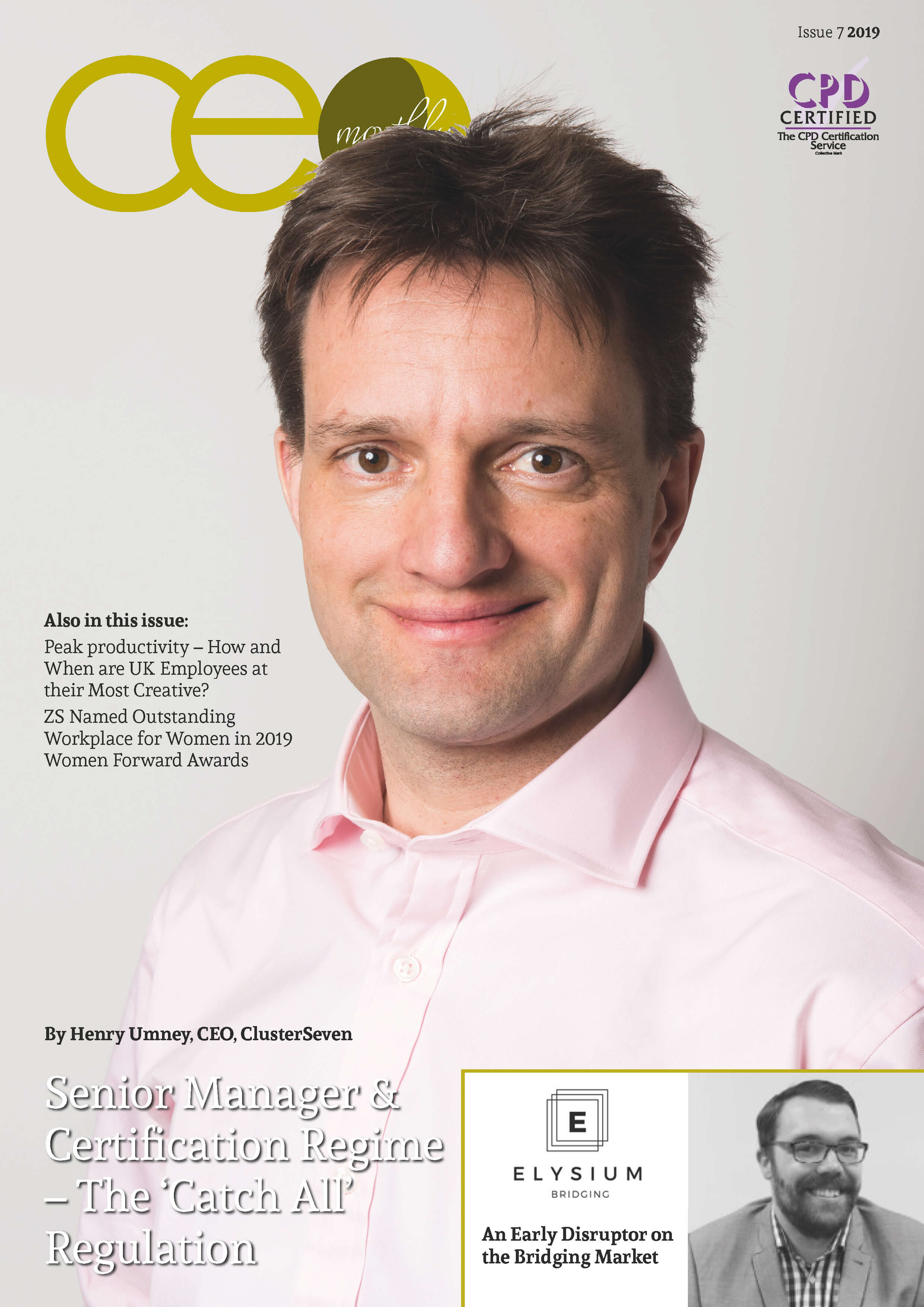 CEO Monthly July 2019