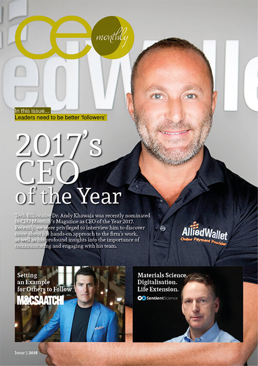 CEO Monthly March 2018