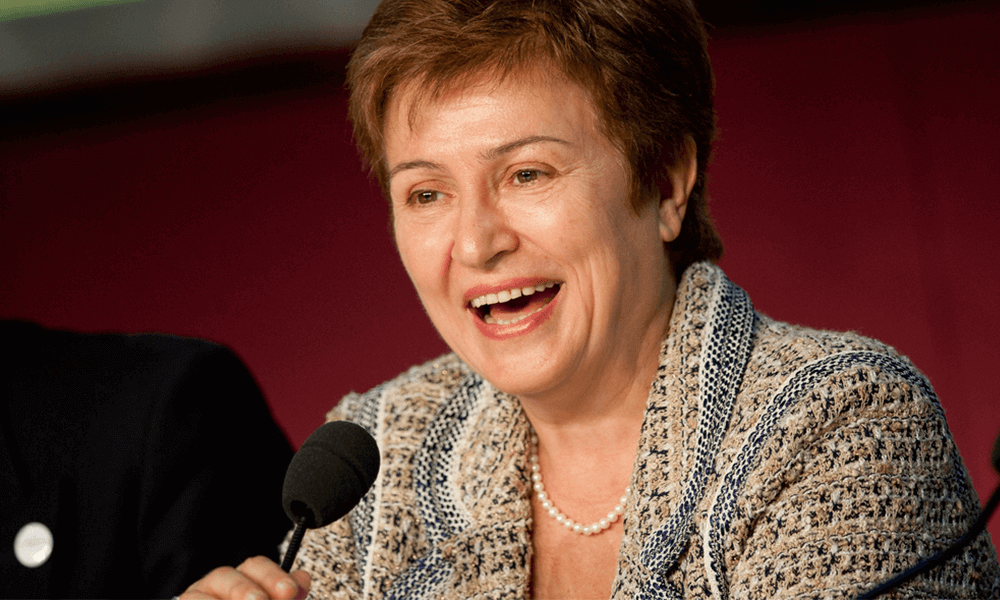 World Bank Chief Executive Officer Kristalina Georgieva Visits India