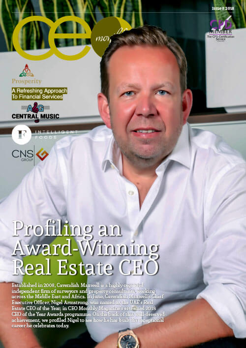 CEO Monthly August 2018