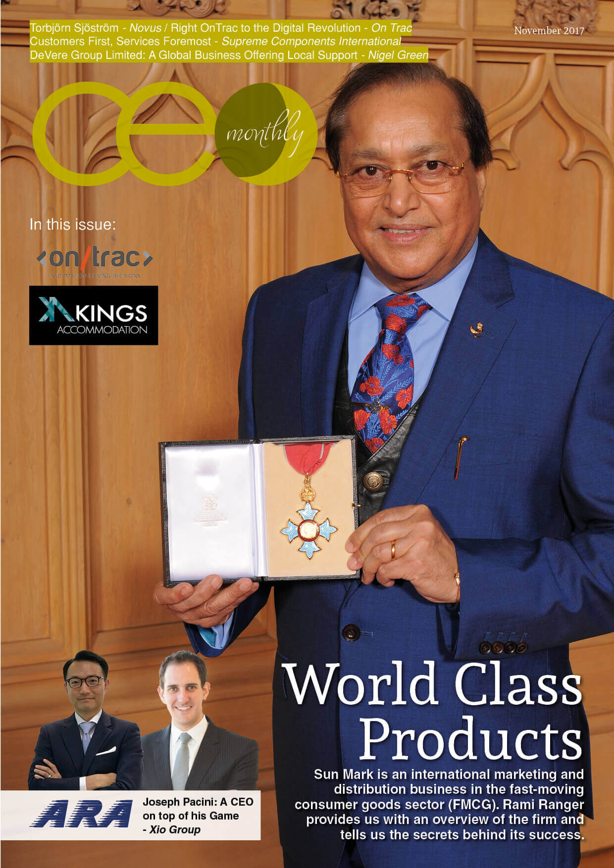 CEO Monthly November 2017