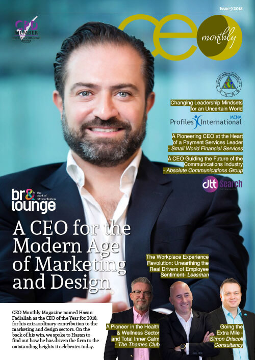 CEO Monthly September 2018