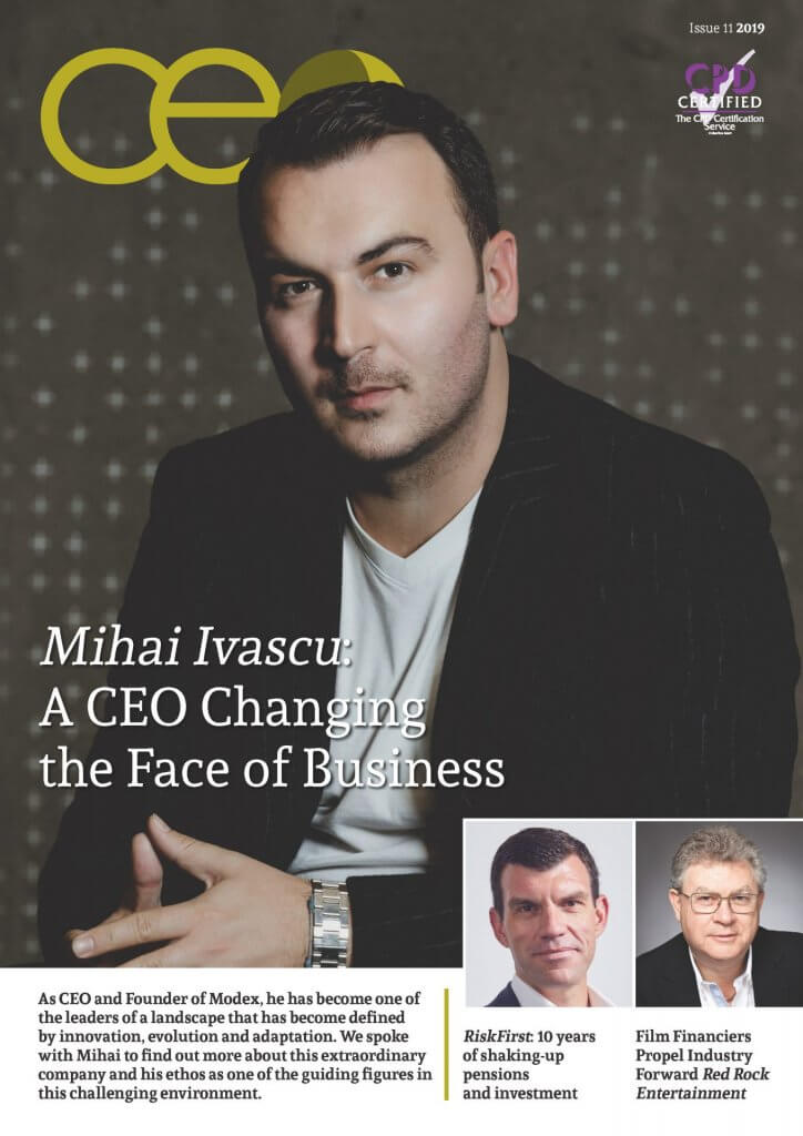 CEO Monthly Issue 11 2019 cover