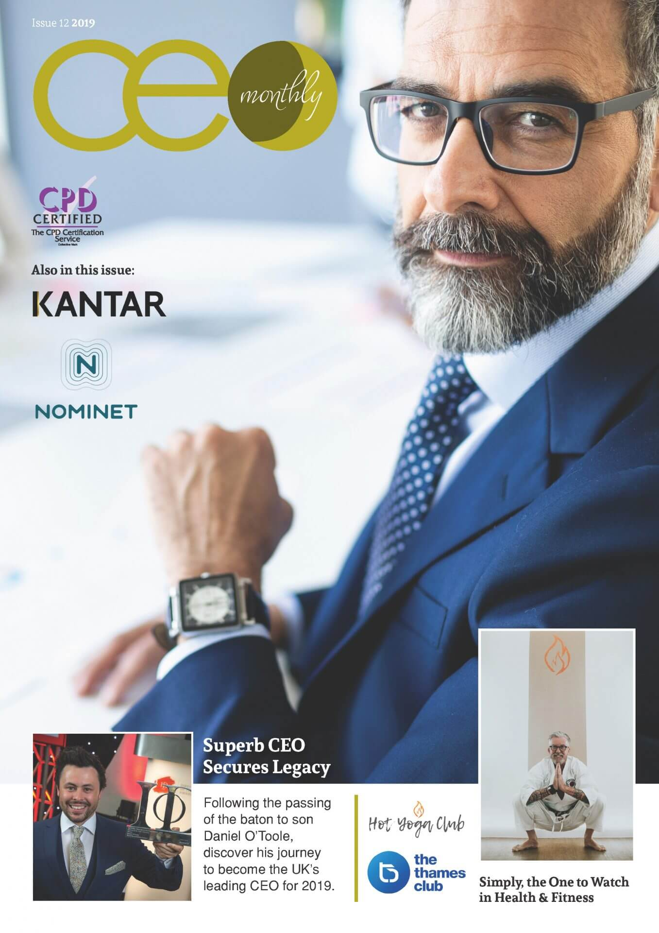 CEO Monthly Issue 12 2019 cover