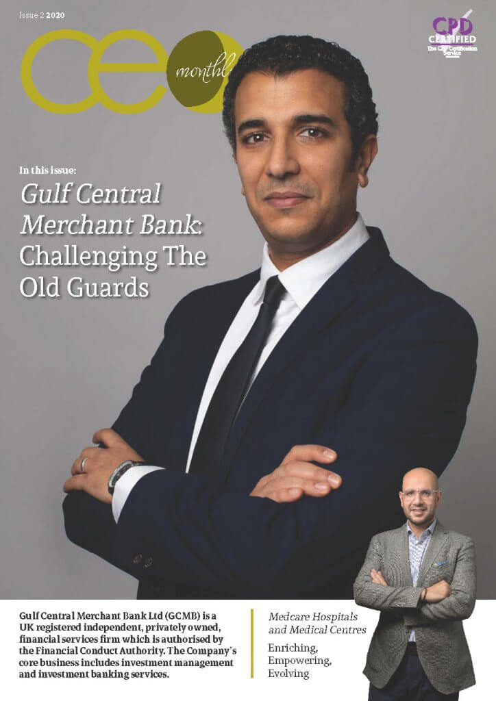 CEO Monthly Issue 2 2020 cover