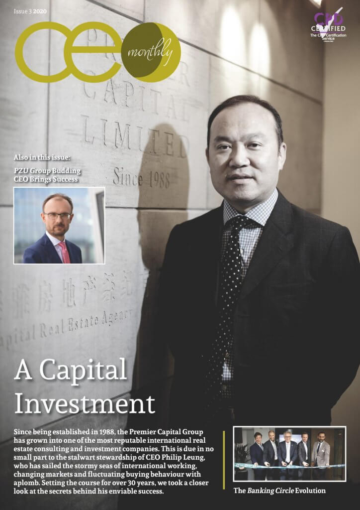 CEO Monthly Issue 3 2020 cover