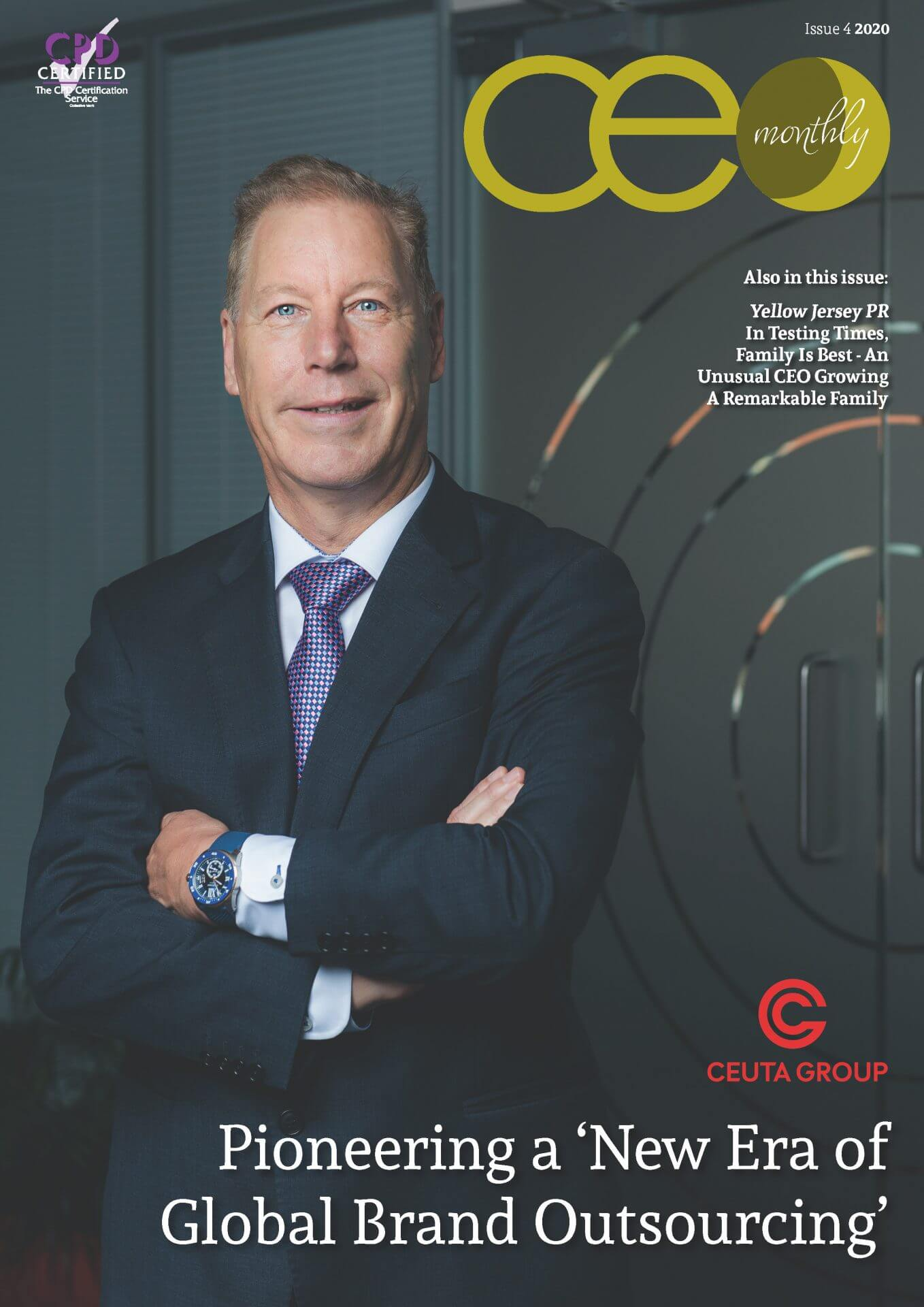 CEO Monthly Issue 4 2020 cover