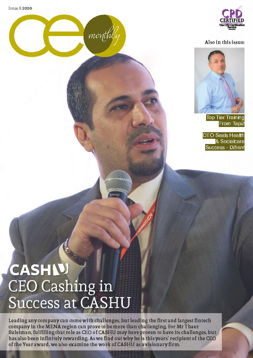 CEO Monthly Issue 8 2020 cover