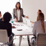 Women Taking a Stand to Move Up Managerial Chain