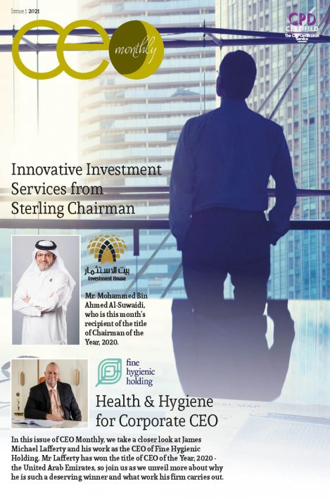 CEO Monthly Issue 1 2021 - Cover