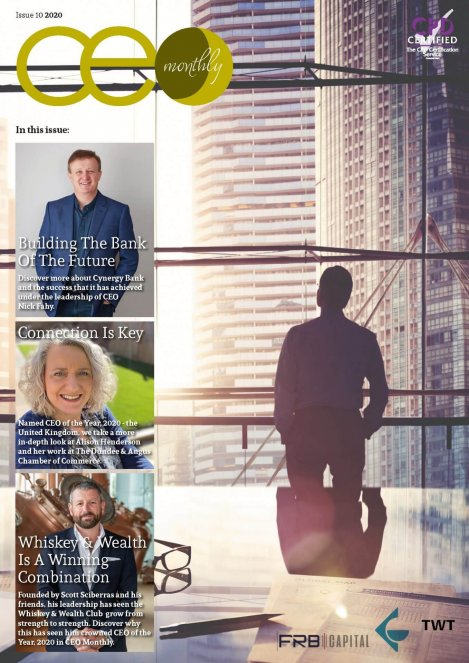 CEO Monthly Issue 10 2020 - Cover