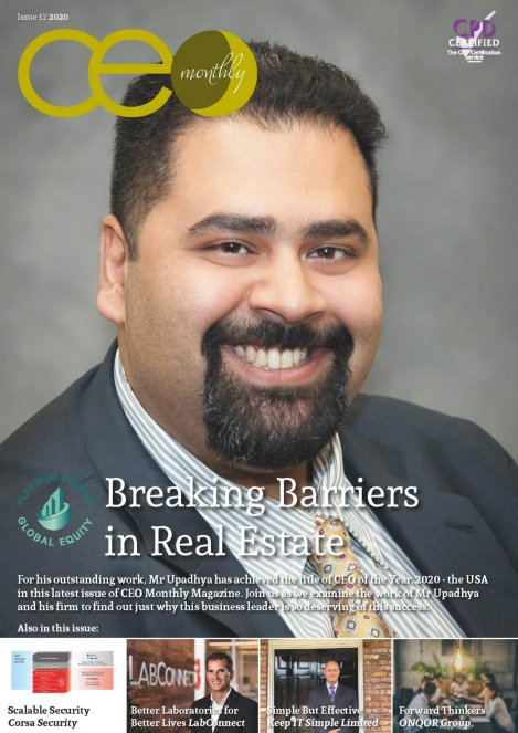 CEO Monthly Issue 12 2020 cover