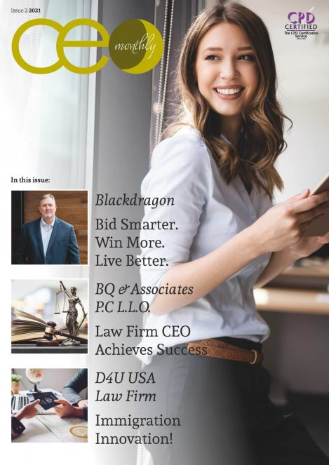CEO Monthly Issue 2 2021 cover