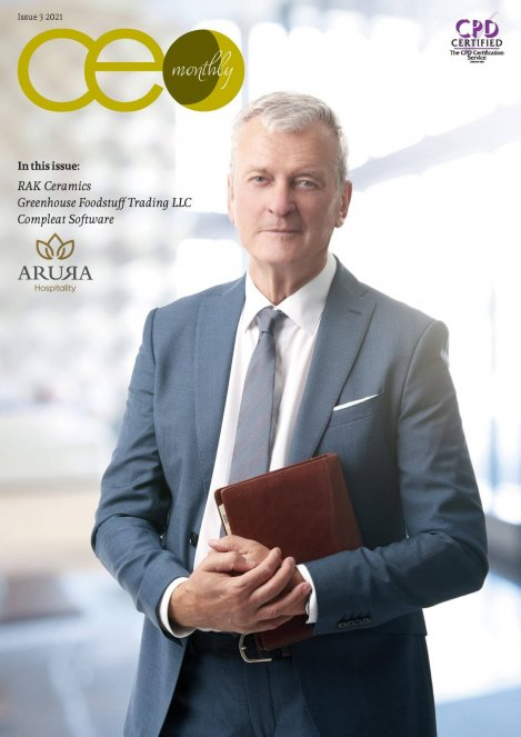 CEO Monthly Issue 3 2021 - Cover