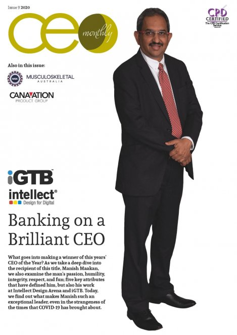 CEO Monthly Issue 9 2020 cover